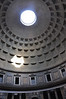 This is the open dome in the Pantheon - a 1800 year old building that has remained intact. The span of the dome is 43 meters - one of the largest free standing domes of the world.