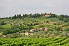 The Tuscan countryside near San Gimignano