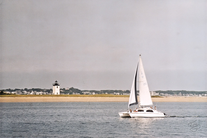Approaching Provincetown Harbor