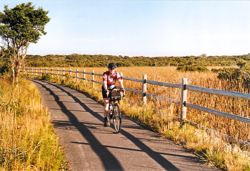 Nantucket - One of the many lovely Bike/Rail Trails on Cape Cod