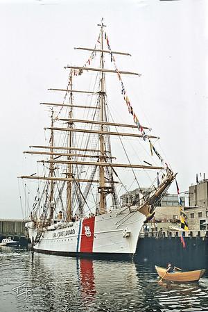 Gloucester Harbor - the US Coast Guard Eagle