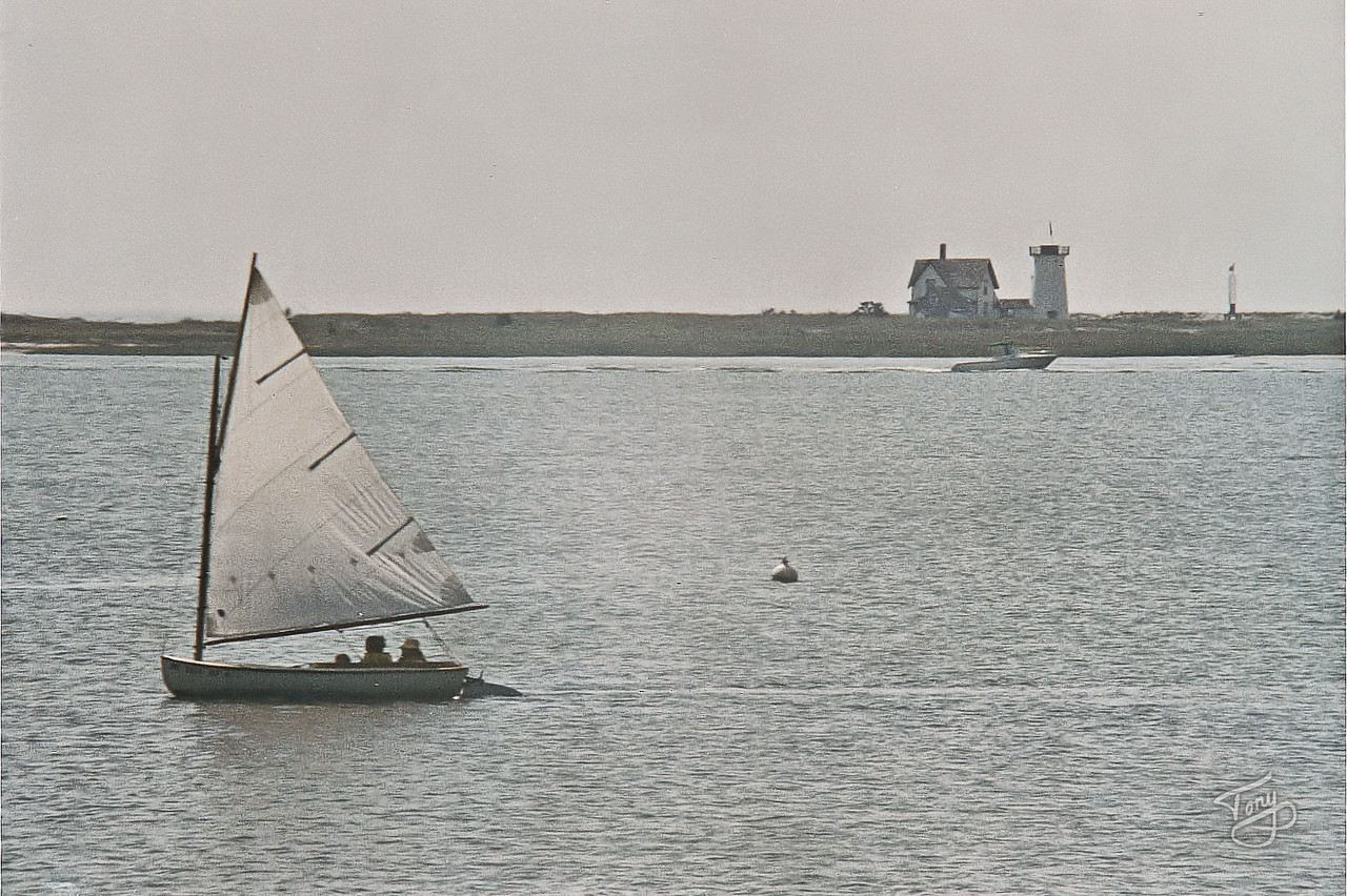 On Our Way to Chatham - Stage Harbor Light