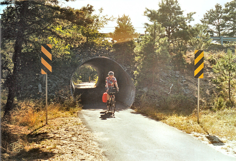 On the Rail Trail from Dennis to Brewster