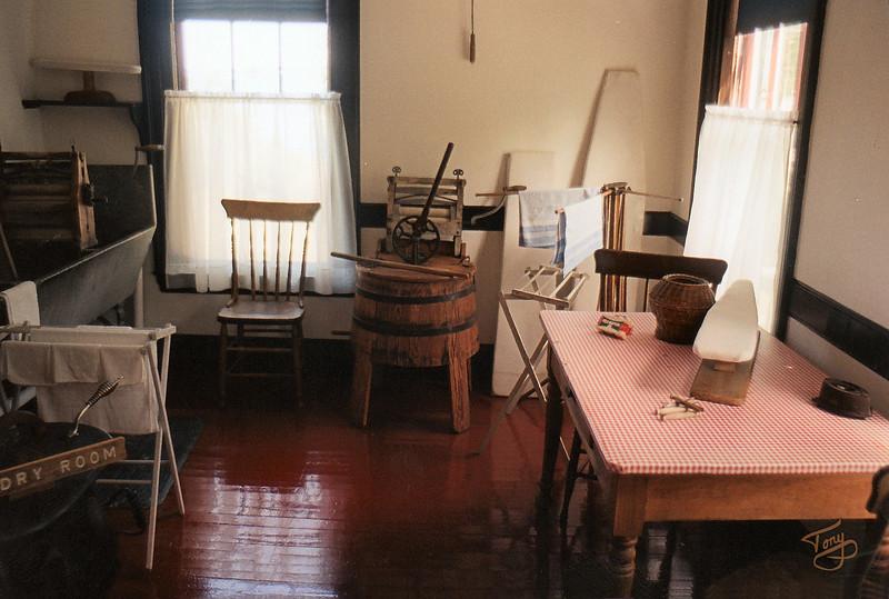Campobello Island, New Brunswick - Roosevelt Estate - <br /> <br /> Laundry Room