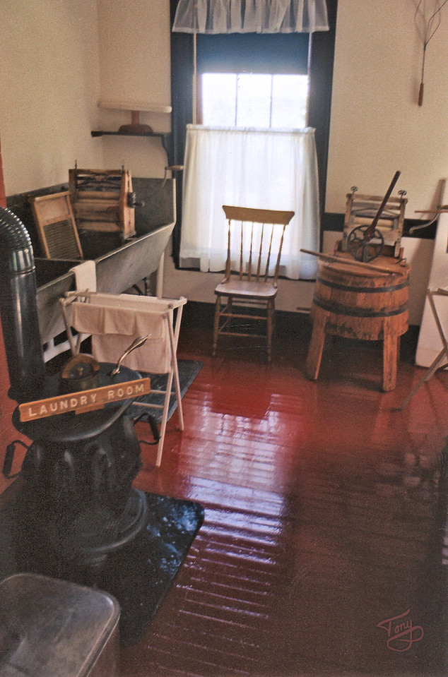 Campobello Island, New Brunswick - Roosevelt Estate - <br /> <br /> Laundry Room