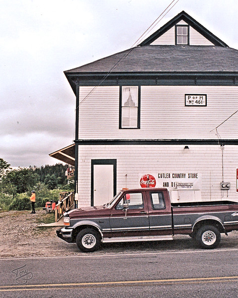 Cutler, Maine - Cutler Country Store 1 - <br /> <br /> our lunchtime haven on this first leg of our tour