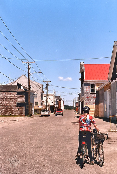 Water Street, Lubec, Maine 2 <br /> <br /> a ghostly, windswept shadow of her former self