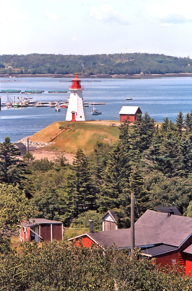 Campobello Island, New Brunswick - Mulholland Point Lighthouse 1