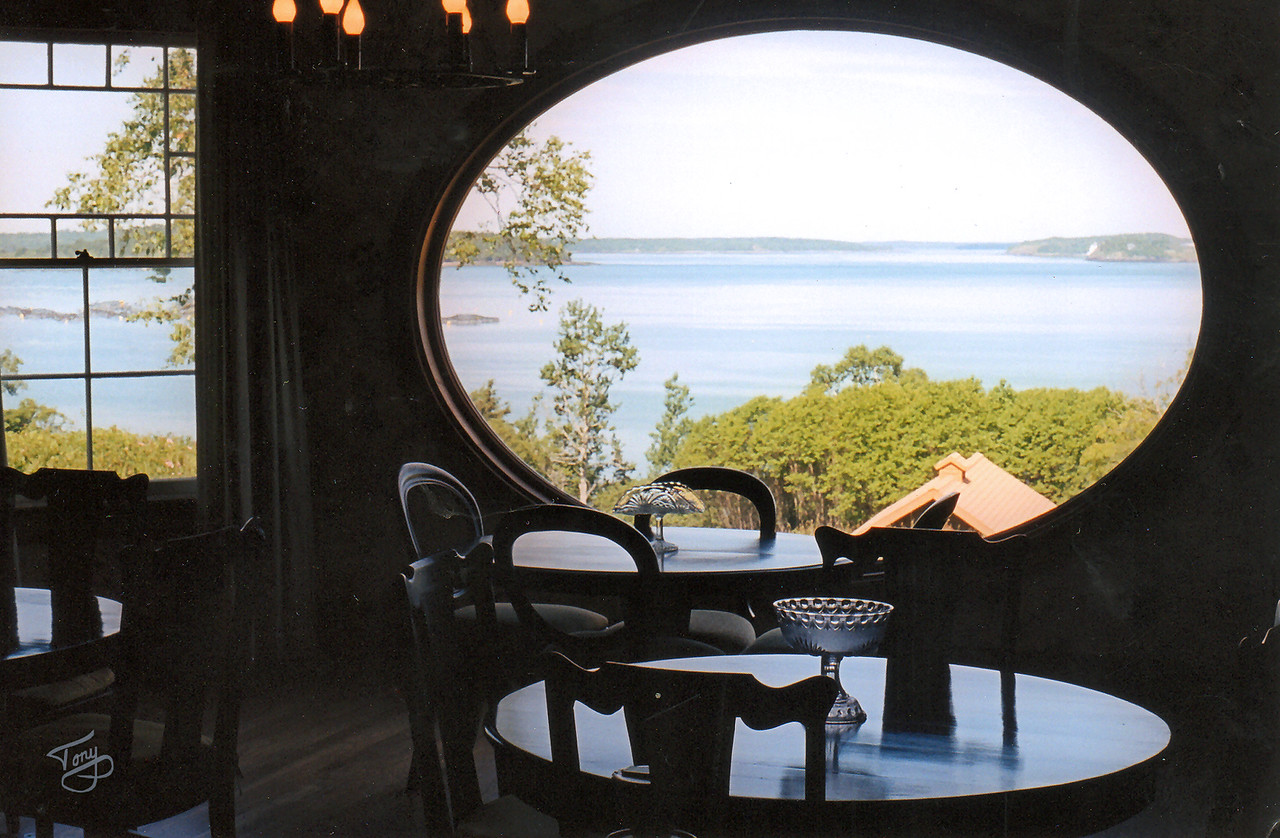 Campobello Island, New Brunswick - Roosevelt Estate - <br /> <br /> Dining Room