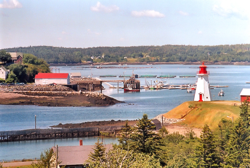 Lubec, Maine and Mulholland Point Lighthouse