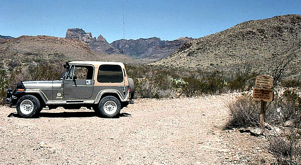 Jeeping in the Desert