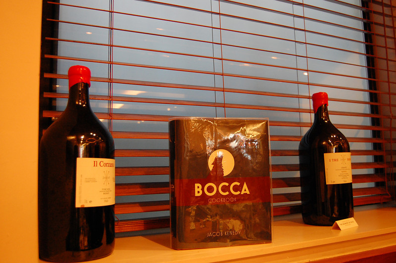We ate lunch in Soho at Bocca di Lupo yesterday.  They had great Italian food.
