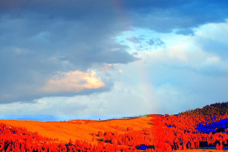 Fading Rainbow in Lamar