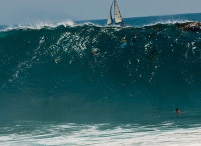 Big Waves at the Wedge