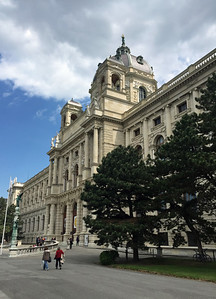 On the other side of Maria-Theresien-Platz is the Kunsthistorisches Museum or Art History Museum.  The building is identical to the Natural History Museum and also dates to the late 1800's.