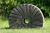 Millstone as sculpture