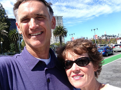 Bob and Patty in SF, Sept 2013