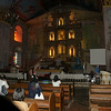 The inside of the oldest church in Bohol Philippines