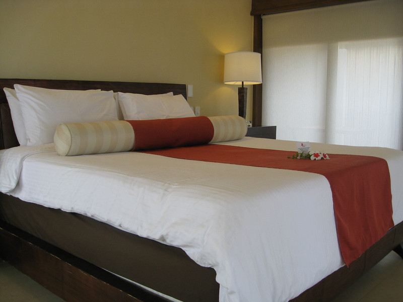 The Bed in our room