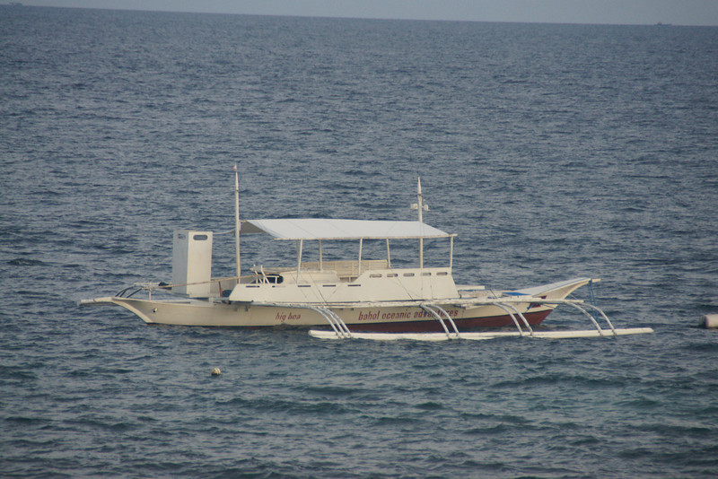 One of the local dive boats
