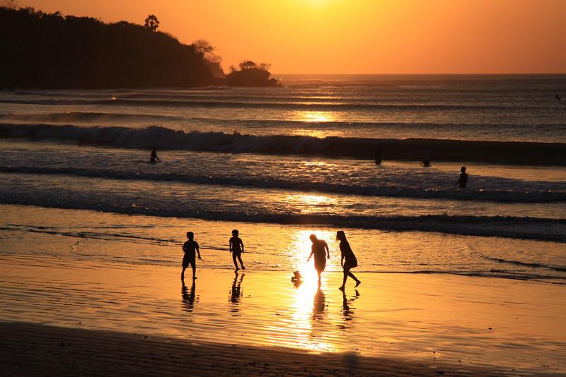 Sunset Beach Football