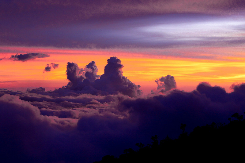 Sunset from Mount Kinabalu