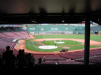 Tour of Fenway park - the oldest ballpark still in use!