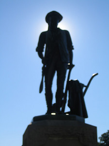 Tribute to the Minuteman at the Old North Bridge - Concord