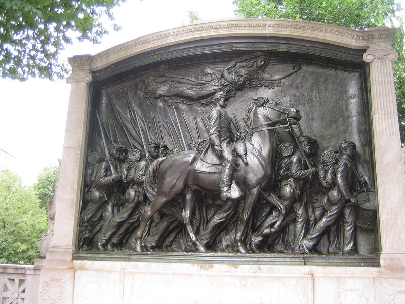 Another monument.  This one for the civil war.