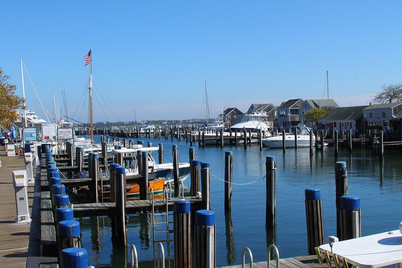 Nantucket wharf.