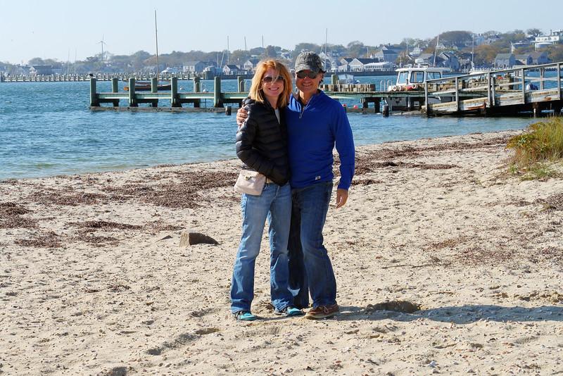 Nantucket beach.