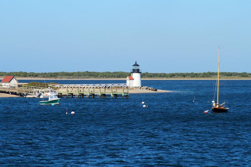 Nantucket lighthouse.