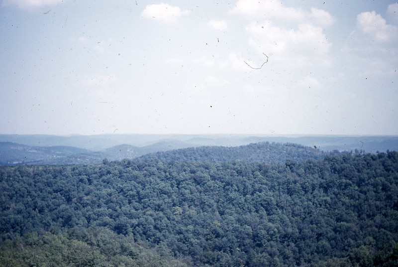 Highest Point in Arkansas Ozarks