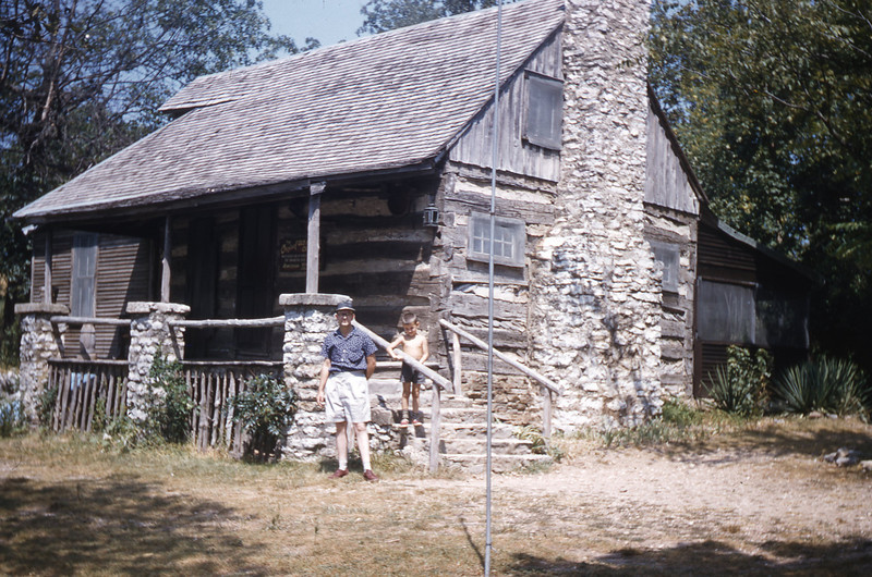 "Old Matt's Cabin from ""Shepherd of the Hills"""