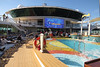 Pool and the big screen