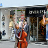 Street musicians in Galway