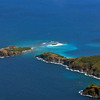 Little Jost Van Dyke, Sandy Spit, Green Cay Aerial Photo
