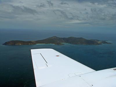 Jost Van Dyke Aerial Photo