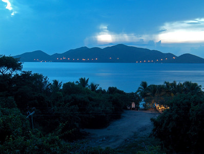 Jost Van Dyke from Smuggler's Cove, Tortola