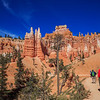 on the Queens Garden Trail - Bryce Canyon