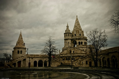 Fishermen's Bastion Halászbástya in Castle Hill