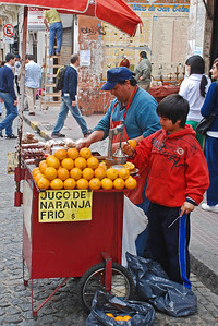 Cold Orange Juice - San Telmo Street Festival