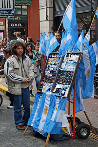 Street Vendor - All Things Argentina - San Telmo Street Festival
