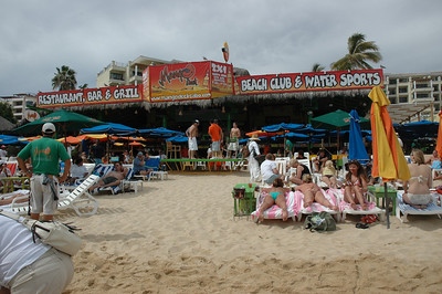 This was two hotels away and was the local rowdy beach bar with plenty of entertainment