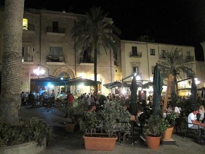 Duomo Square in Cefalu Sicily