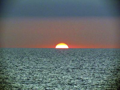 Sunset on the Tyrrhenian Sea.