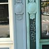 Hyman's cast iron with graffito