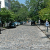 Another cobblestone St. This was used as ballast in the ships from England. When King Charles found out it was being removed for paving he started taxing the stone.