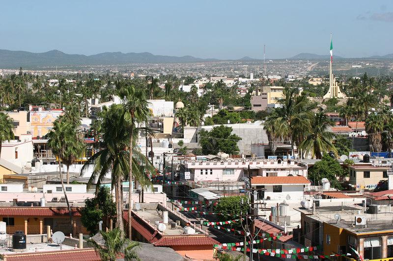 A look out across Cabo San Lucas.