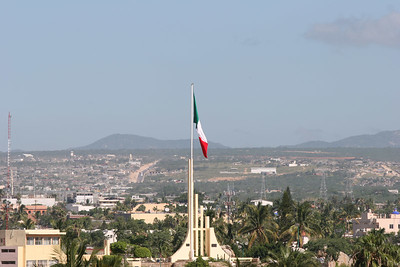 A look at the Mexican flag.